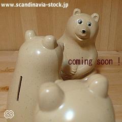 フィンランドのシロクマ貯金箱